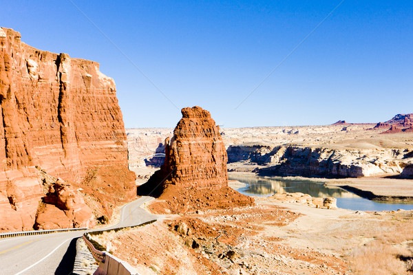 湖 峡谷 ユタ州 米国 風景 岩 ストックフォト © phbcz