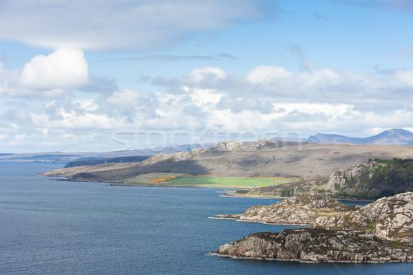 Tierras altas Escocia agua paisaje mar Europa Foto stock © phbcz