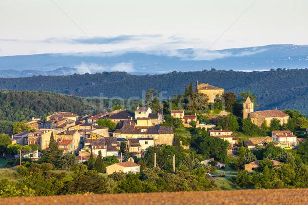Entrevennes, Provence, France Stock photo © phbcz