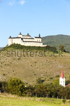 Krasna Horka Castle, Slovakia Stock photo © phbcz