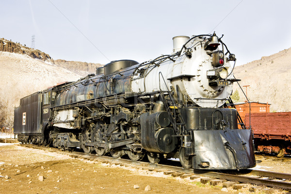 Colorado Railroad Museum, USA Stock photo © phbcz
