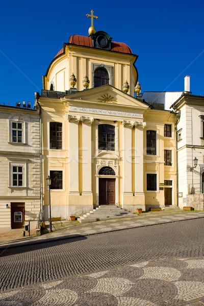 Evangelical Church, Banska Stiavnica, Slovakia Stock photo © phbcz