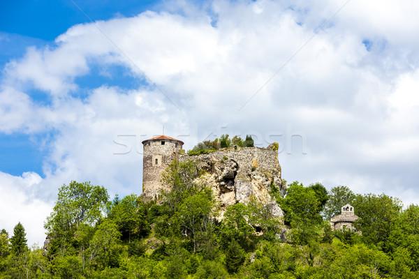 Kasteel afdeling Frankrijk reizen architectuur geschiedenis Stockfoto © phbcz