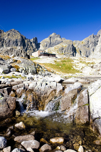 Stock photo: Small Cold Valley and Teryho Cottage at background, Vysoke Tatry