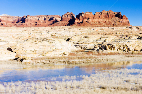 Lago canón Utah EUA paisaje rock Foto stock © phbcz