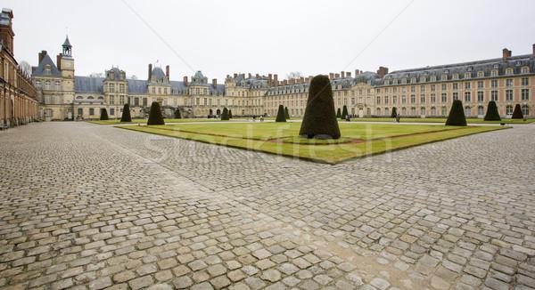 Palais bâtiment architecture Europe histoire extérieur Photo stock © phbcz