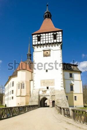 Maison bon pasteur Bratislava Slovaquie bâtiments Photo stock © phbcz