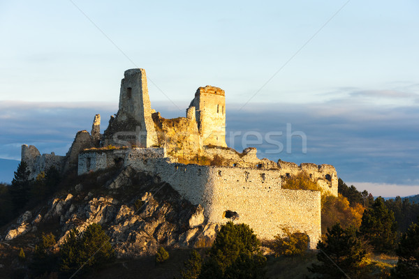 Foto d'archivio: Rovine · castello · Slovacchia · costruzione · architettura · Europa