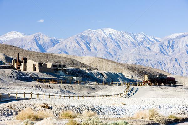 Harmonia mina morte vale parque Califórnia Foto stock © phbcz