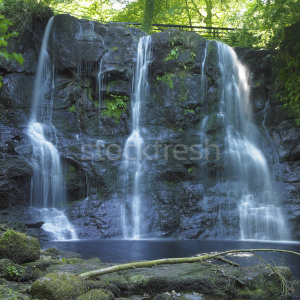 Glenariff Waterfalls, County Antrim, Northern Ireland Stock photo © phbcz