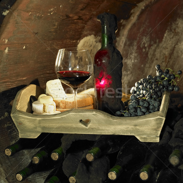 wine still life, Biza winery, Cejkovice, Czech Republic Stock photo © phbcz