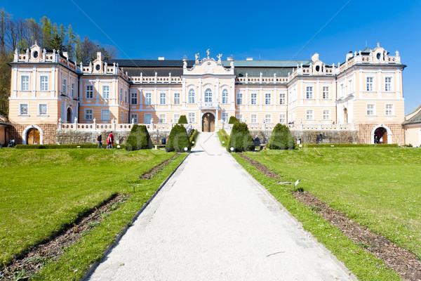 Nove Hrady Palace, Czech Republic Stock photo © phbcz