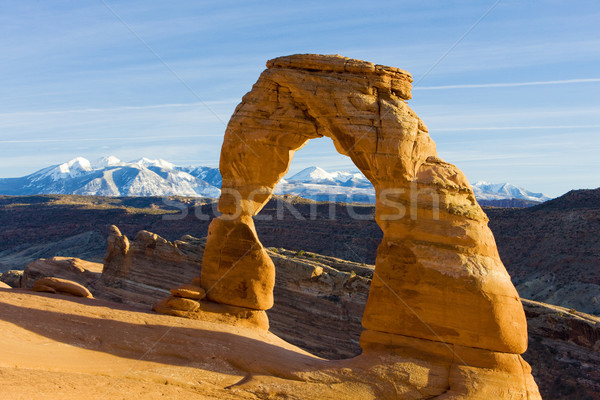 Arc parc Utah USA paysage montagnes Photo stock © phbcz