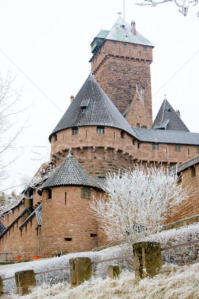 Haut-Koenigsbourg Castle, Alsace, France Stock photo © phbcz