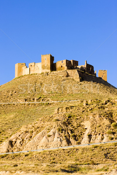 Montearagon Castle, Huesca Province, Aragon, Spain Stock photo © phbcz