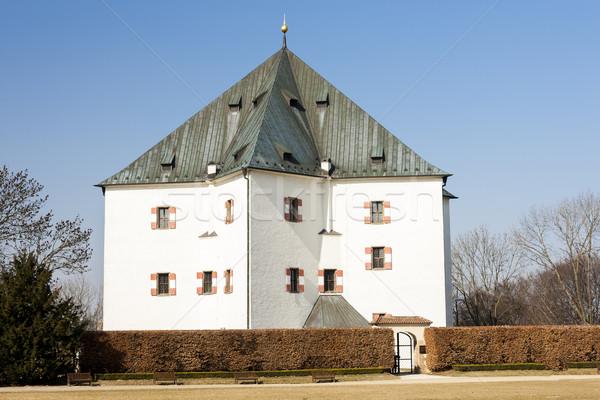 Sommer Residenz Prag Tschechische Republik Gebäude Architektur Stock foto © phbcz