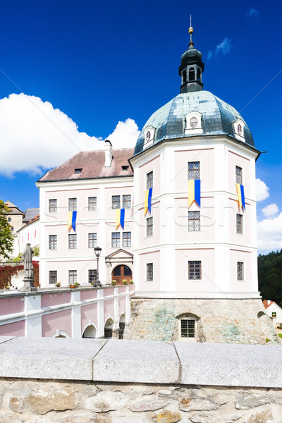 castle Becov nad Teplou, Czech Republic Stock photo © phbcz