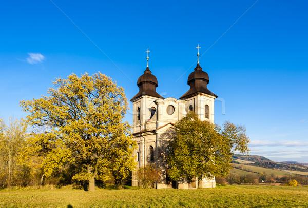 Церкви святой Чешская республика здании архитектура Европа Сток-фото © phbcz