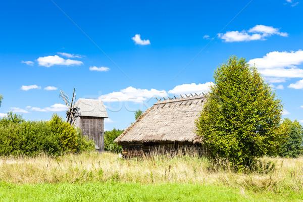 парка русский культура здании путешествия стране Сток-фото © phbcz