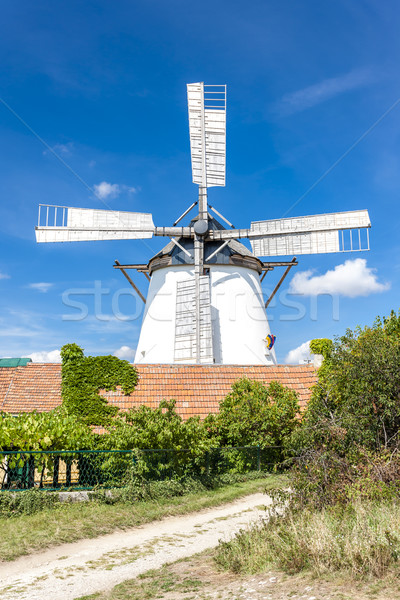 windmill in Retz, Lower Austria, Austria Stock photo © phbcz