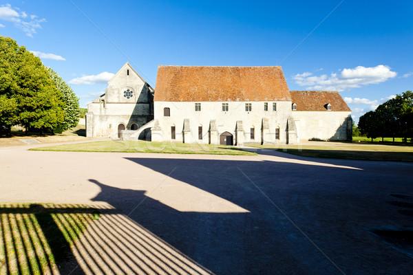 Noirlac Abbey, Centre, France Stock photo © phbcz