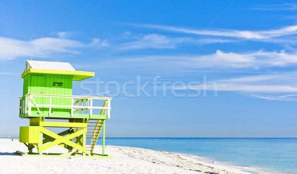 キャビン ビーチ マイアミ フロリダ 米国 海 ストックフォト © phbcz