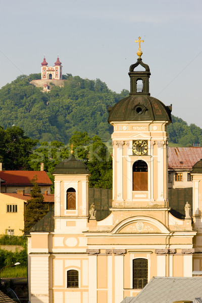 Church of St. Mary, Banska Stiavnica, Slovakia Stock photo © phbcz