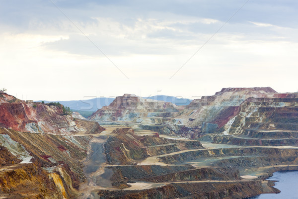 copper mine, Minas de Riotinto, Andalusia, Spain Stock photo © phbcz
