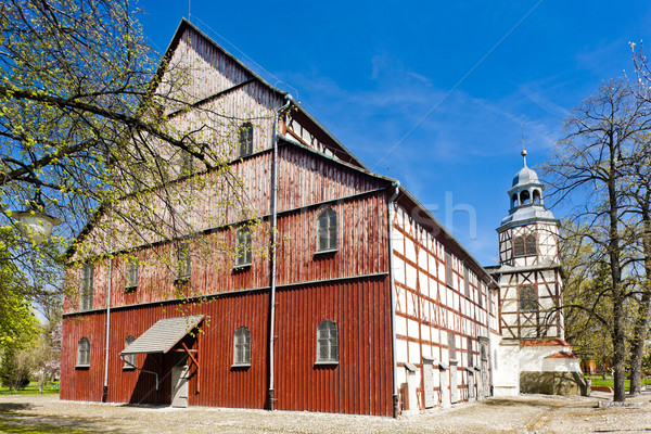 Stock photo: timbered church of Jawor, Silesia, Poland