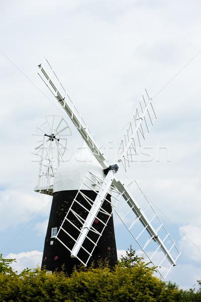 Windmill Англии архитектура Сток-фото © phbcz
