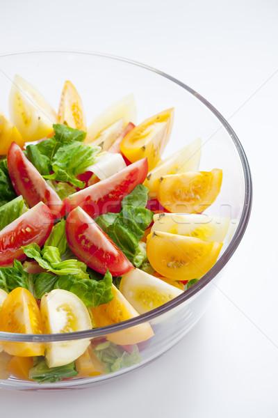 tomato salad Stock photo © phbcz