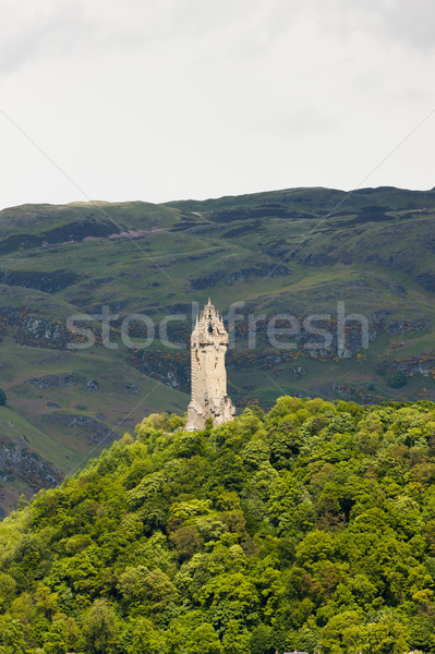 William Wallace Monument, Stirling, Scotland Stock photo © phbcz