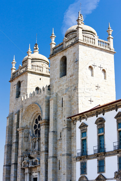 Catedral Portugal igreja viajar arquitetura europa Foto stock © phbcz