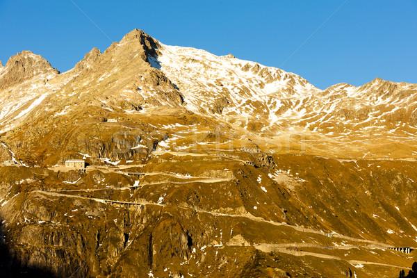 Furkapass with Belvedere Hotel, canton Graubunden, Switzerland Stock photo © phbcz