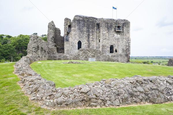 Kasteel Schotland reizen architectuur Europa geschiedenis Stockfoto © phbcz