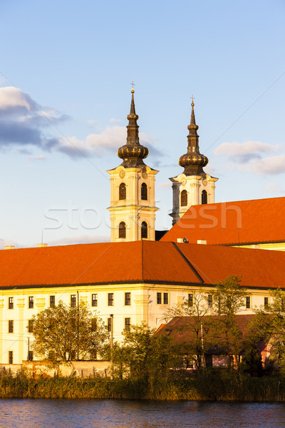 Basílica dama monasterio Eslovaquia edificio viaje Foto stock © phbcz