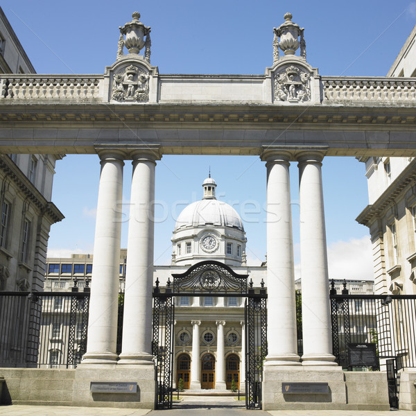 Leinster House, Dublin, Ireland Stock photo © phbcz