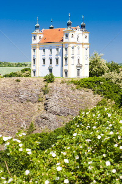 Bedevaart kapel tsjechisch Tsjechische Republiek kerk Stockfoto © phbcz