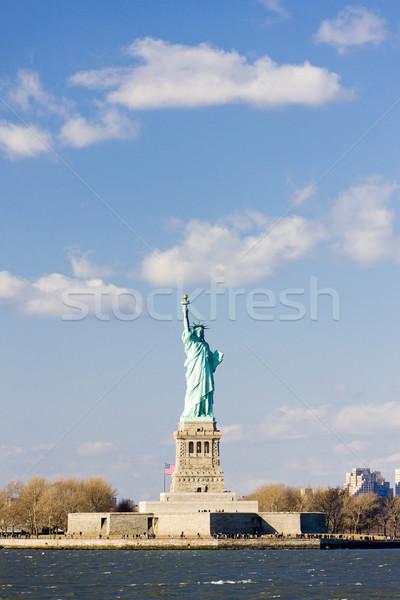 Hörcsög sziget szobor New York USA Stock fotó © phbcz