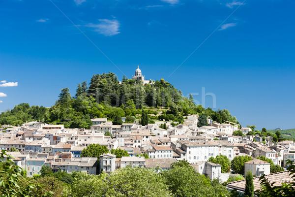 Forcalquier, Provence, France Stock photo © phbcz