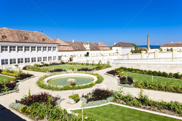 Barocco giardino palazzo abbassare Austria costruzione Foto d'archivio © phbcz