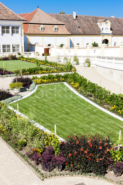 барокко саду дворец снизить Австрия здании Сток-фото © phbcz