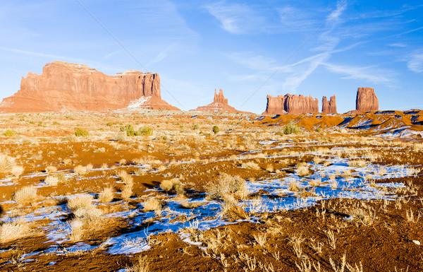 Monument Valley National Park, Utah-Arizona, USA Stock photo © phbcz