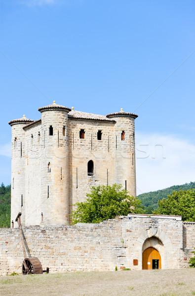 Château France Voyage architecture histoire extérieur Photo stock © phbcz