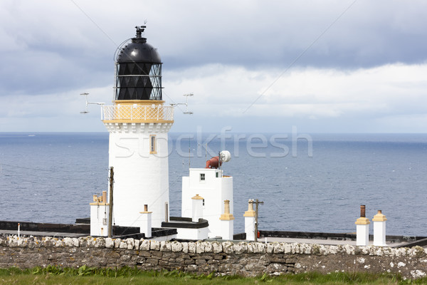 Dunnet Head Lighthouse, Highlands, Scotland Stock photo © phbcz