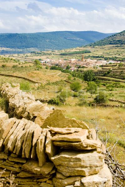 La Iglesuela del Cid, Teruel Province, Aragon, Spain Stock photo © phbcz