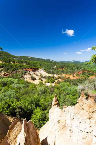 Colorado Provencal, Provence, France Stock photo © phbcz