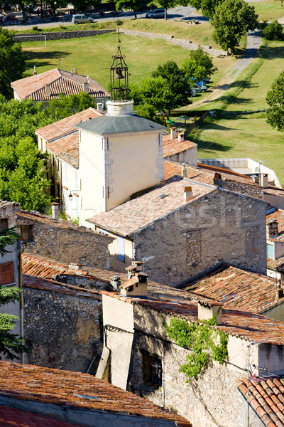 Aiguines, Var Departement, Provence, France Stock photo © phbcz