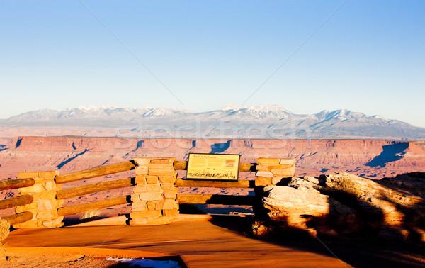 Park Utah USA tájkép utazás kövek Stock fotó © phbcz