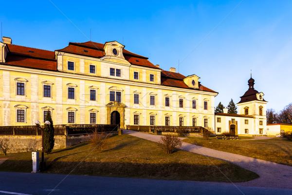 Palace of Rychnov nad Kneznou, Czech Republic Stock photo © phbcz